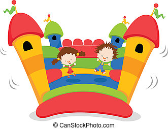 bouncy, castello