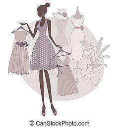 boutique, shopping