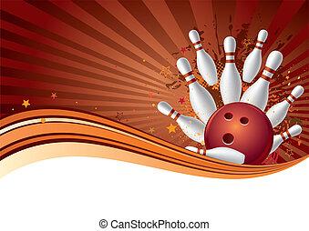 bowling, sport