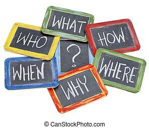 brainstorming, decisione, domande, fabbricazione