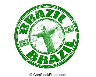 brasile, francobollo