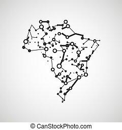 brasile, immagine, tecnologia