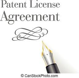 brevetto, licenza