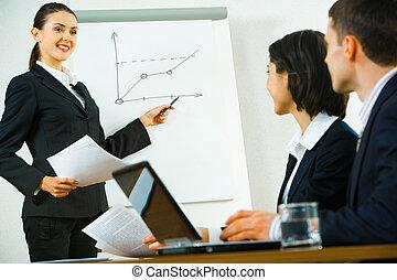 briefing, affari