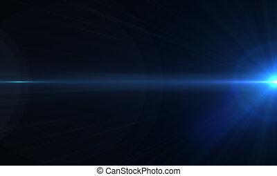 brilla luce incerta, ottico