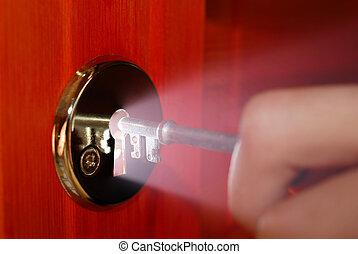 buco serratura, chiave
