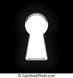 buco serratura
