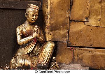 buddismo, statua