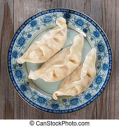 buongustaio, fresco, gnocchi, asiatico, cinese