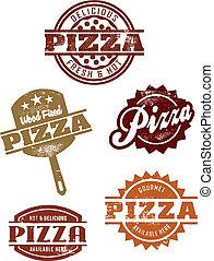 buongustaio, grpahics, pizza