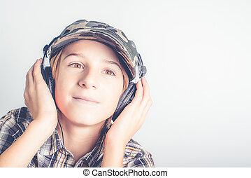 buono, musica, ascoltare