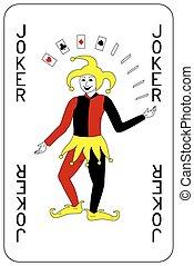 burlone, poker, carta da gioco