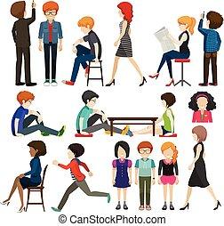 businessminded, gruppo, persone
