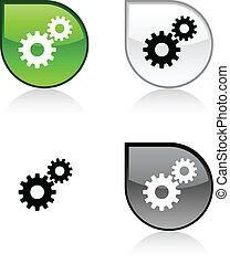 button., regolazioni
