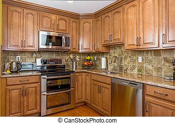 cabinetry, cucina, legno
