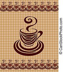 caffè, 2., scheda, tazza