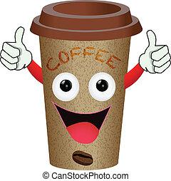 caffè, carattere
