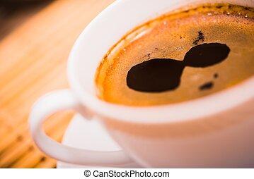 caffè, closeup