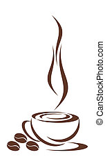 caffè, cup.
