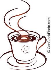 caffè, icona