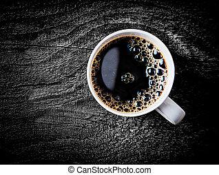 caffè, pieno, filtro, tazza, arrosto, fresco
