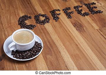 caffè, saporito