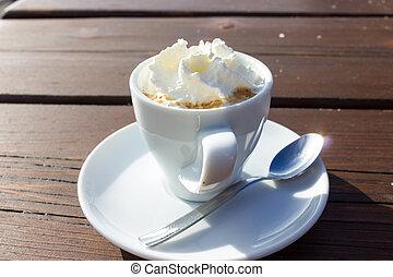 caffè, saporito, crema