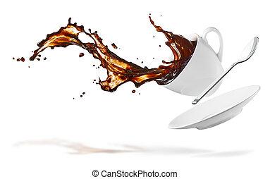 caffè, schizzo