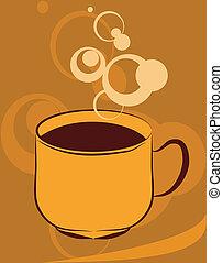 caffè, segno