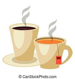 caffè tè, campanelle