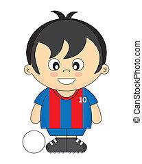 calcio, bambini