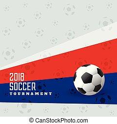 calcio, fondo, 2018, football, tazza