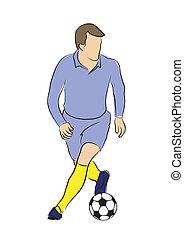 calcio, gioco