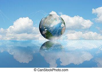 calcolare, nuvola, tecnologia
