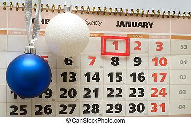 calendario, 2010., gennaio