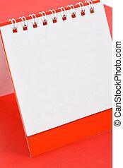 calendario, vuoto