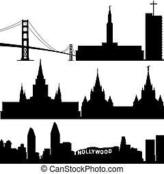 california, architettura