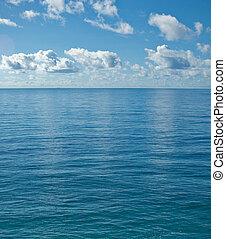 calma, oceano, pacifico