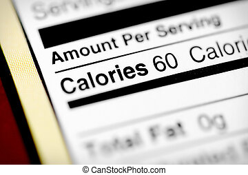 calorie, basso