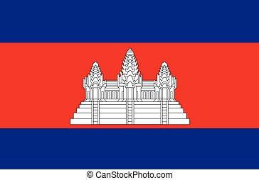 cambodia indicano, vettore