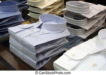 camicie, vendita