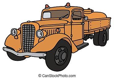 camion serbatoio, classico
