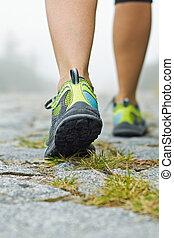 camminare, esercizio