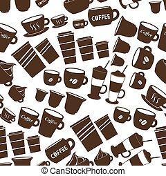 campanelle, caffè, variatio, tazze, formati