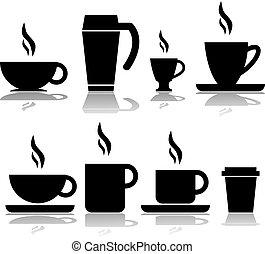 campanelle, caffè