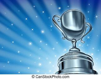campione, premio, tazza