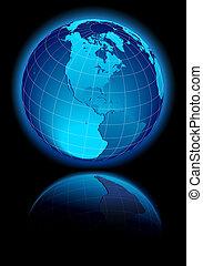 canada, america, sud, stati uniti, mondo