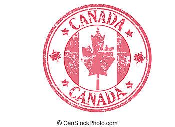 canada, francobollo
