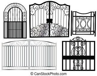 cancello, ornamento