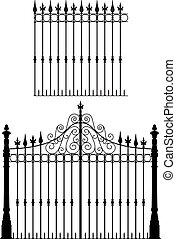cancello, recinto